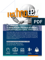 Programme Technolex 2017