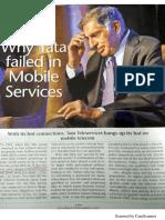 What Tata Tele Failed
