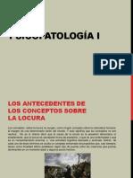 PSICOPATOLOGÍA I