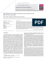 Cement and Concrete Research Volume 39 Issue 5 2009 [Doi 10.1016_j.cemconres.2009.01.017] Rikard Ylmén; Ulf Jäglid; Britt-Marie Steenari; Itai Panas -- Early Hydration and Setting of Portland Cement
