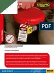 Bloqueo y Etiquetado STEELPRO