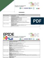 Programação EPIDE 2017 (1)
