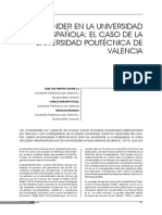 EI_Emprender en La Universidad Espanola Caso UPV