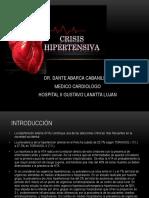 Clase Crisis Hipertensiva