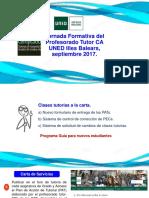 JornadaFormativaProfesoradoTutor_Sept2017 UNED