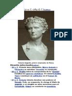 Cronología de Roma desde el 31 a.C.