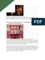 Historia de La Odontología en La Edad Media