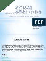 Easy Loan Management System