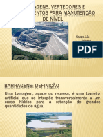 Apresentação Barragens