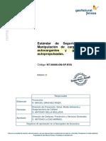NT.00068.GN-SP.ESS. Manipulación e izado de cargas