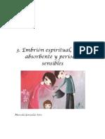 3. Embrión Espiritual, Mente Absorbente y Períodos Sensibles