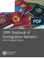 Immigratin Report 2009ois Yb 2009 Released August 2010