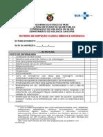 Roteiro de Inspeção Clínica Médica e Cirúrgica