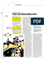 Take the Qualified Lead