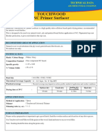 Touchwood NC Primer Surfacer