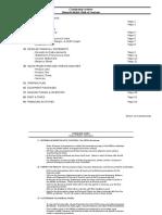 PWC financial model