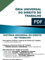 2. História Universal Do Direito Do Trabalho