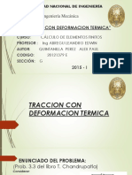 Traccion Con Deformacion Termica Finitos Expo