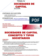 Tema IV. Sociedades Capitalistas