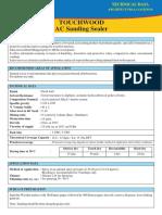 Touchwood AC Sanding Sealer