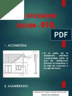 CNE UTILIZACION  SECCION - 010.pptx