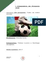 Proyecto Taller de fútbol