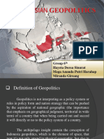 Indonesian Geopolitics