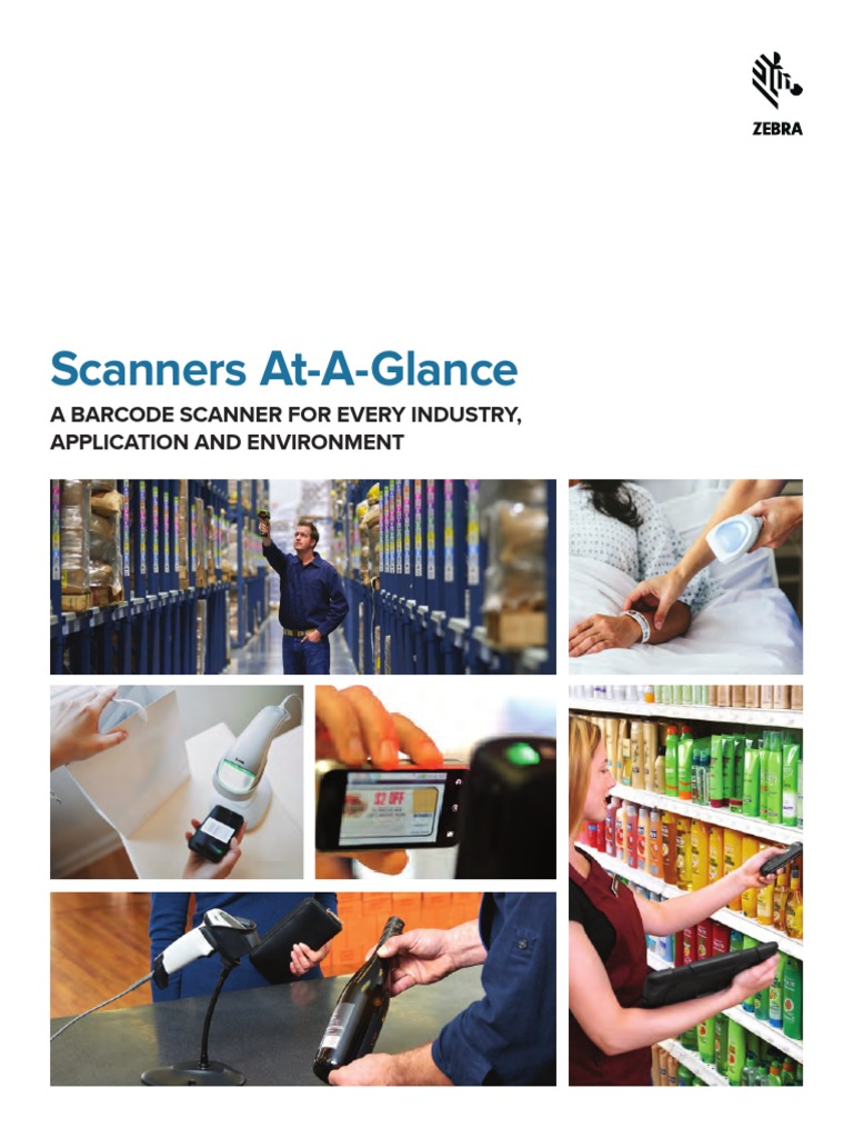 Scanners at a Glance Brochure English | Image Scanner | Barcode