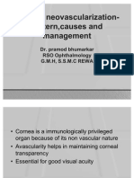 Corneal Vascularization Causes & Management Review
