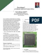 Laporan Praktikum SISDIG MODUL 2 Pengenalan design menggunakan FPGA
