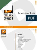 Filtracion de Aceite