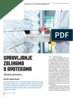 Upravljanje zalihama u apotekama (deo 1 - osnovni pojmovi)