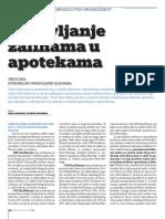 Upravljanje zalihama u apotekama (deo 3 - integralno upravljanje zalihama)