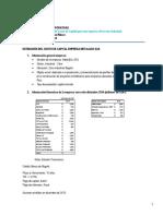 Taller No 1 - Finanzas Corporativas