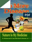 No More Disease Nature Is My Medicine
