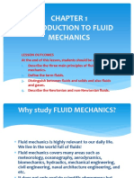 CHAPTER 1 CMT 255 Fluid Mechanics