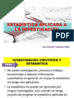 Estadistica Para La Investigacion