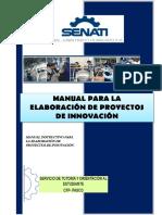 Manual de Proyecto de Innovaciones SENATI