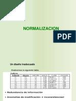normalizacion