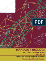 Handout Biologi Mutasi untuk SMA kelas 12