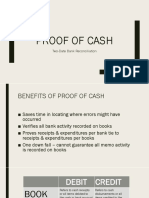 Proof of Cash