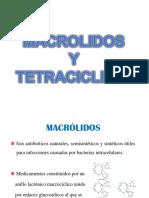 Macrolidos y Tetraciclinas