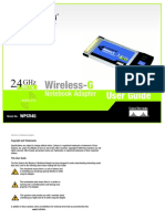 Wireless G UserGuide