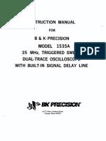 BK Precision 1535a
