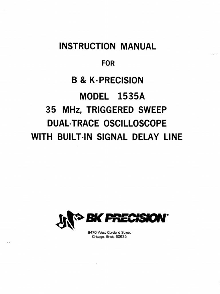 BK Precision 1535a | Electricity | Electronics