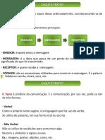 Aula 01 - Tipos de Comunicação e de Textopara Enem