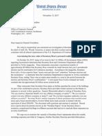 U.S. Senators demand investigation of Commerce Secretary Wilbur Ross