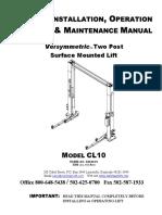 Manual Elevador Challenger c10