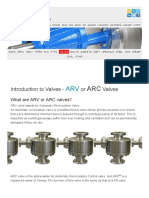 Introduction to Valves - Only the Basics - ARV or ARC Valves