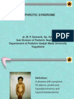 Nephrotic Syndrome on Children (Dr. MP. Damanik)